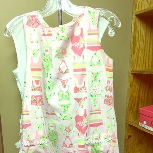 """Vintage Lily Pulitzer. Size 2. Length is 24"""" x 18"""""""